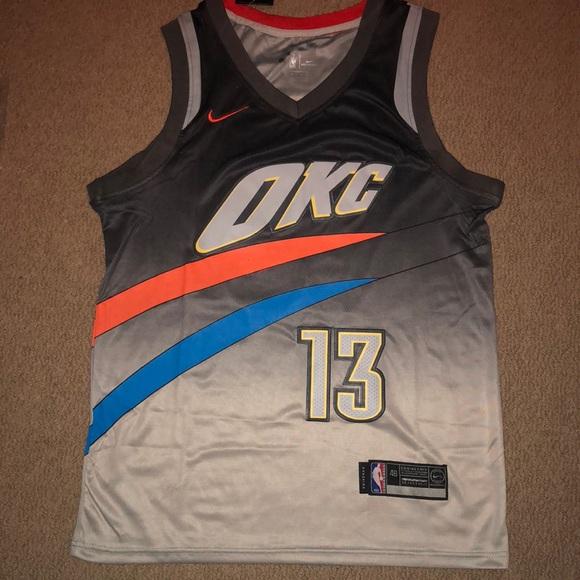 e1a2d560287 Nike Shirts | Oklahoma City Thunder City Edition Jersey | Poshmark